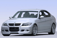 Wide wheels - tuned breyton BMW 3 Series E90 with 20-inch wheel rims