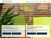 Die Praxisgemeinschaft für ganzheitliche Medizin präsentiert sich mit einer neuen Internetseite.