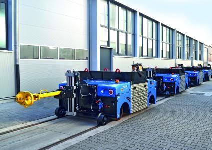 Elektrorangierer ZAGRO E-MAXI VARIO für Anhängelasten bis 1000 Tonnen