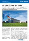 [PDF] Pressemitteilung: 50 Jahre SCHURTER GmbH