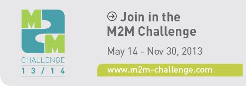 M2M Challenge banner
