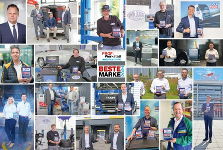 Collage Gewinner Beste PROFI Werkstatt-Marke 2021