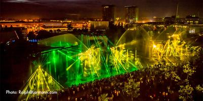 World's largest mobile water show at the Autostadt