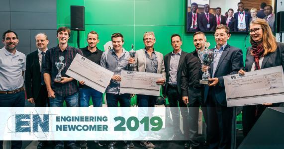 Projekte für mehr Nachhaltigkeit überzeugen beim Engineering Newcomer Wettbewerb 2019