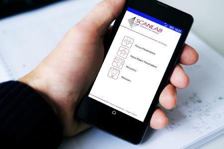 SCANcalc App for scan system selection