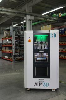 AIM3D sets new impulses by starting series production of its unique CEM 3D-printer.