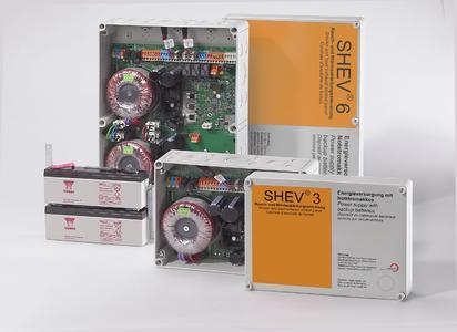 SIMON Kompaktzentrale SHEV 3 / 6 / SIMON Compact Control SHEV 3 / 6
