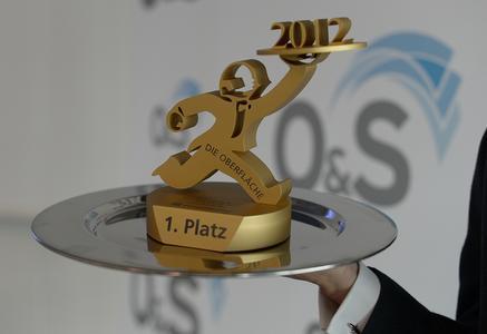 """Preis """"Die OBERFLÄCHE 2012"""""""
