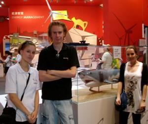 """""""Der Hai ist ein Hit!"""" Die Hochschule Bremen auf der Expo 2010"""