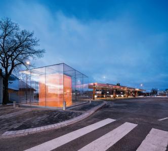 Lahti Travel Centre in Finnland