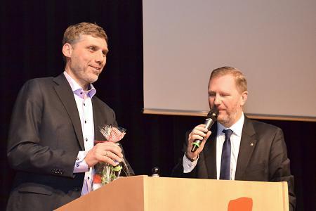 HFO-Kick-off 2017 - Achim Hager und Johannes Pruchnow (v. l.)