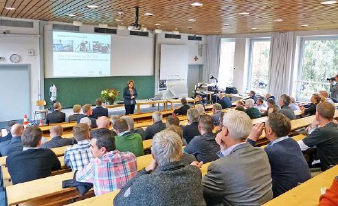 Universität Würzburg Schweinfurt- geodätisches Kolloquium in Würzburg-Schweinfurt