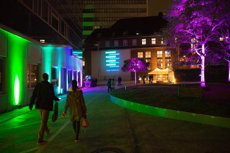 Campus Berliner Tor Ilumination