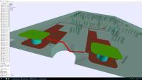Die Berechnungen mit der PCB-Investigator-Kriechstromanalyse erfolgen in 2D, Ergebnisse können in 2D und 3D dargestellt werden