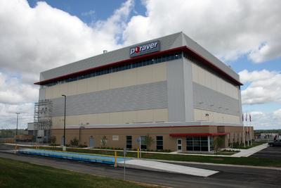 Das nordamerikanische Poraver-Werk in Kanada.  Mehr als 30 Millionen EURO betrugt das Investitionsvolumen für die nordamerikanische Poraver-Fertigungsanlage. Foto: Poraver-North-America
