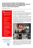 Digital Signage Case Study: ABUS Security World