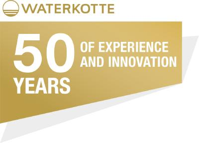 WATERKOTTE feiert 50 Years of Experience and Innovation