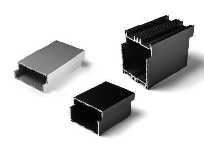 Die Aluminiumgehäuse der Serie EUKAP K von MEGATRON sind robust und lassen sich beliebig miteinander kombinieren