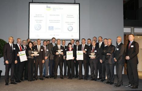 Die Vorjahresgewinner des Lean & Green Efficiency Awards