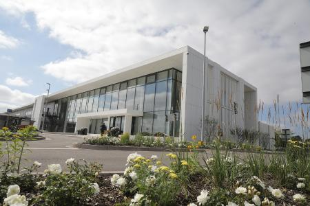 HARTING's European Distribution Center (EDC). The logistics hub was officially commissioned in the summer of 2019