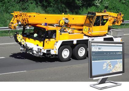 Die neue Masternaut-Lösung für die Baubranche nutzt kapazitiv abgegriffene CANbus-Daten für das Live-Reporting von Baufahrzeugen, Kränen und Schwermaschinen. Bild: Masternaut