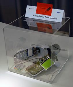Manipuliertes Terminal der neuesten Generation.  © easycash GmbH