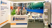 Thomas Imenkämper und Günter Sareyko (v.l.n.r.) von Reisner Cooling Solutions begrüßten an ihrem Messestand auf der KUTENO 2019 zahlreiche interessierte Kunden und Partner.