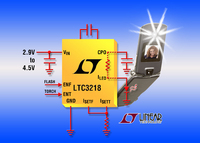 Inductorless Multi-Mode LED Driver Delivers 400mA in 6mm2