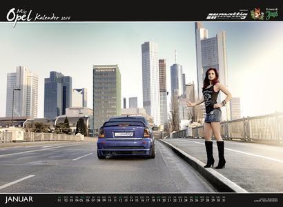 Mattig Miss Opel Kalender Januar