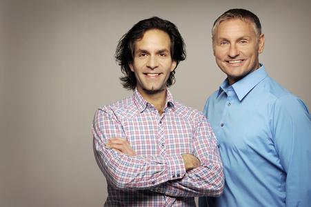 Keyp AG Führung Yvan Kurzo und Christian Berger.