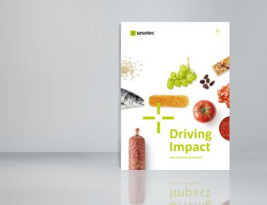 """In the eBook """"Driving Impact – Safe food and saving food"""" Sesotec among others describes the challenges to feed the world's growing population / Photo: Sesotec GmbH"""