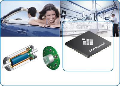 Brushless DC motor control solutions by Micronas now additionally powered by ARM Cortex®-M3 Processor
