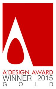 "Das Logo des ""Gold""-Awards, Foto: A'Design Award"