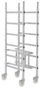 Das Klappgerüst Safe-T Solution von Hymer-Leichtmetallbau ist ein leichtes und flexibles Arbeitsgerüst mit kompakten Lager- und Transportmaßen