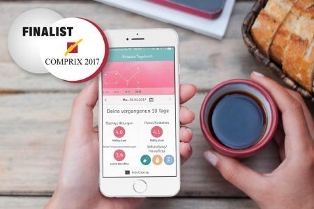 anyMOTION mit Rosacea-App für COMPRIX 2017 nominiert