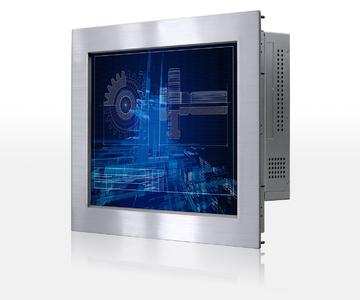 Industrie-Panel-PC 15-Zoll mit IP65-geschützer Panelmount-Front aus Edelstahl
