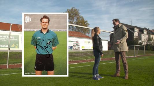 Expedition: Praxis. Dr. Jörn Thiemer und seine frühere Tätigkeit als Schiedsrichter