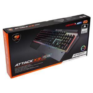 Attack X3 RGB Speedy Tastatur