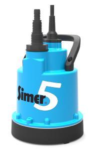 Die neue SIMER 5 Pumpe von Pentair Jung Pumpen ist ein nützliches mobiles Werkzeug für viele In- und Outdoor-Anwendungen / Bild: Jung Pumpen GmbH, Steinhagen