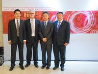 Proud oft the achievements and the cooperation in the past decade: Lianghua Zhang (Deputy General Manager Benecke-Changshun Auto Trim), Uwe Wüst (General Manager Benecke-Changshun Auto Trim), Dongfang Bian (Vice Mayor Zhiangjiagang), Dr. Renfa Gu (Chairman Jiangsu Changshun Group) (Photo: ContiTech)