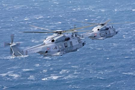 NH90-NFH in flight (Ref. CDPH-2170-21, © Copyright Eurocopter, Alexandre Dubath)