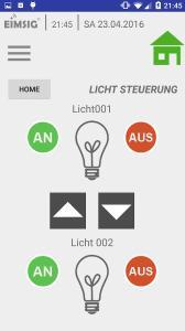 Die EiMSIG Android App ist vollfunktional im Google Play Store abrufbar