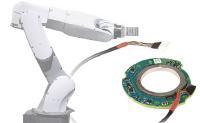Winkelmessung in der Motoren der Robotergelenke