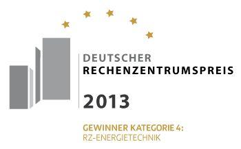 Logo des DRZP-Preisträgers 2013 in der Kategorie 4 RZ-Energietechnik