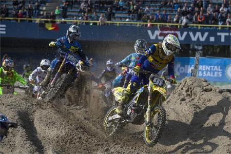 Seewer Podiums To Keep MX2 Championship Battle Alive