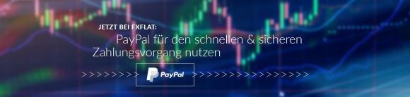 PayPal jetzt bei FXFlat nutzen