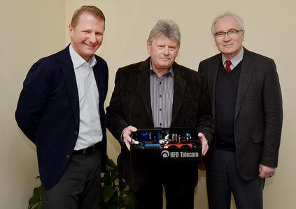 Dipl.-Kfm. Achim Hager, OStR Karlheinz Beyer und OstD Reinhard Dreher (von links)