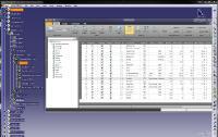Die Stücklisten-Software uniPARTLIST erlaubt das automatische Erstellen von Stücklisten direkt im CATIA und den Export in verschiedene Ausgabeformate