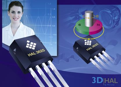Micronas stellt ersten 3D-Hall-Sensor vor