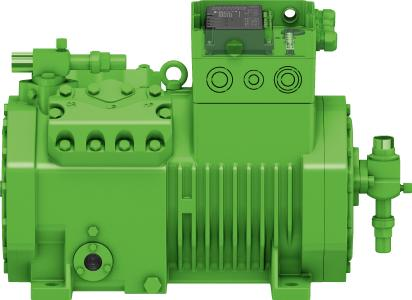 Image 1: An innovative team: the BITZER IQ module and ECOLINE reciprocating compressor